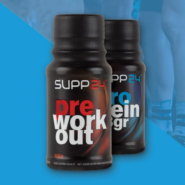 Kracht & herstel men supplementen - SUPP24