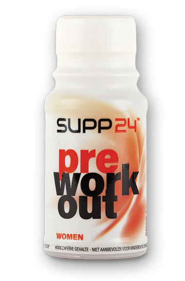 Pre Workout supplement voor vrouwen - SUPP24