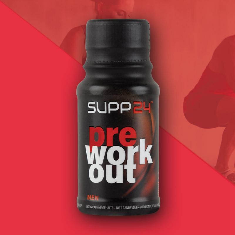 Pre Workout supplement voor mannen - SUPP24
