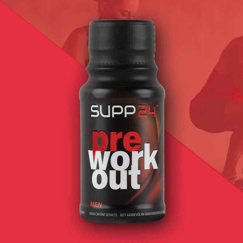 Pre Workout supplement voor mannen - SUPP24
