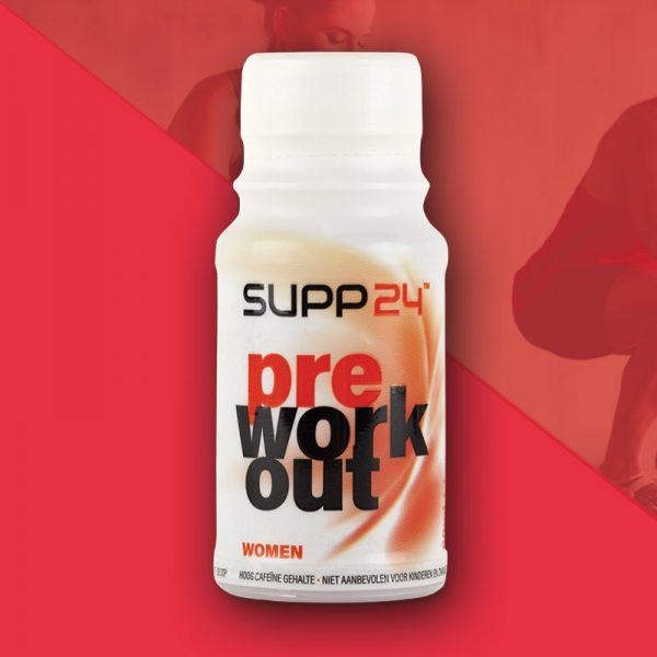 Pre Workout supplement voor vrouwen - SUPP24