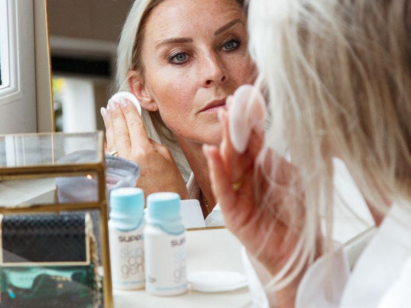 Skin Collagen sfeerfoto spiegel