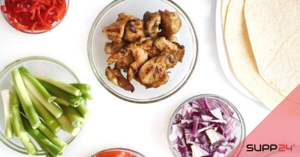 Wraps met kip en avocado, gezond en eiwitrijk!