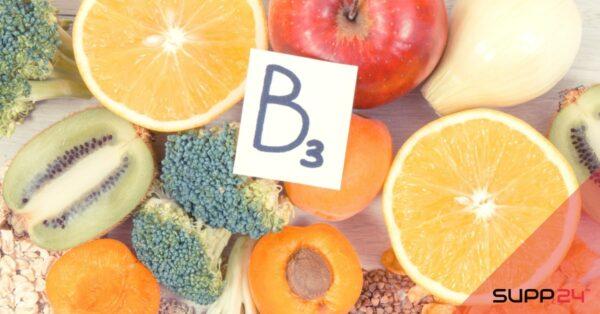 Vitamine B3 | Alle informatie vind je hier