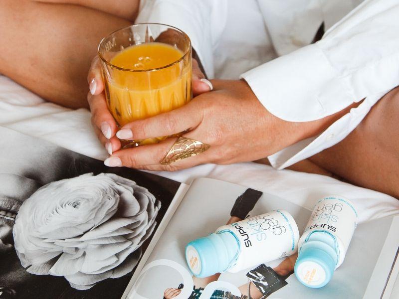 Skin Collagen SUPP24 nutrition shot-juice
