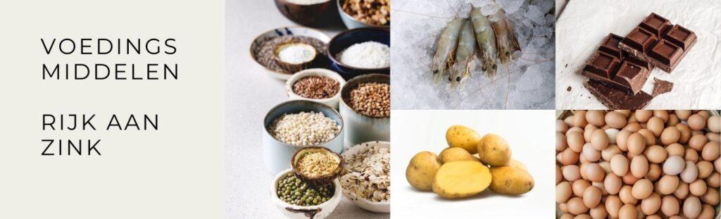 Voedingsmiddelen zink